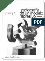 Castells Arteche, Miguel - Radiografia de Un Modelo Represivo 1977-1982. Ekin 1982