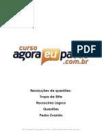 AEP_Resolucao de Questao_Tropa de Elite_Raciocinio Logico_Pedro Evaristo