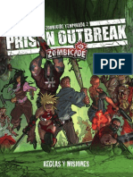 Manual de Reglas Zombicide S2 Prison Outbreak Esp