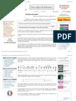 Accompagnement bossa nova au piano (Publié dans le blog piano