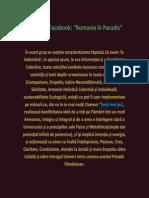 info grup Romania in Paradis