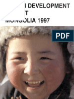 Human Development Report Mongolia 1997