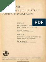 Dicționarul enciclopedic ilustrat Cartea Românească - Partea 1 A - C
