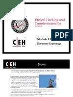 CEHv6 Module 64 Economic Espionage