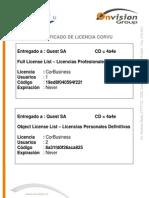 Licencia Definitiva Quest 14052007
