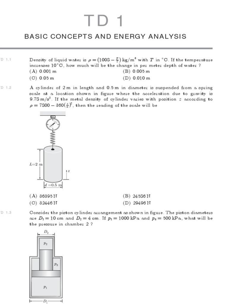GATE Thermodynamics | Pressure | Enthalpy