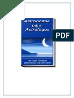 Astronomia Para Astrologos 1