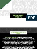 Polittica de Produs