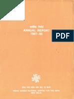 IGNCA Report English 1987 1988