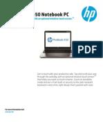 HP Probook 450 G1 Notebook PC