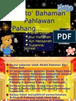 Dato' Bahaman Pahlawan Pahang