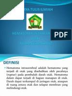 Hematoma Intracerebral