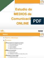 Primer Estudio Medios Comunicacion Online IAB Spain 2014
