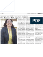 Susanne Sint Jago - Presidente Nobo Di MEP - Awemainta