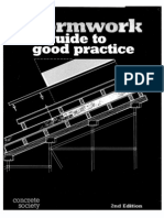 Formwork a Guide to Good Practice