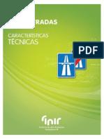 INIR - Auto-Estradas - Caracteristicas Técnicas