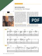 Woodshed Grooving Over Jazz