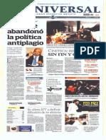 Gcpress Portadas Medios Nacionales Mier 19 Feb 2014