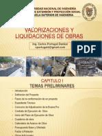 Diapositivas Exposicion Liquidacion y Valorizacion de Obras