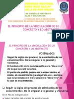 4ª JORNADA (Actividad 2 - Individual-Grupal) El principio de la vinculación de lo concreto y lo abstracto