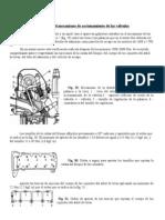 Regulación de válvulas