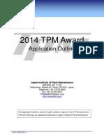 TPM 2014 Award Guidelines