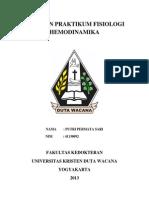 Laporan Praktikum Fisiologi Hemodinamika