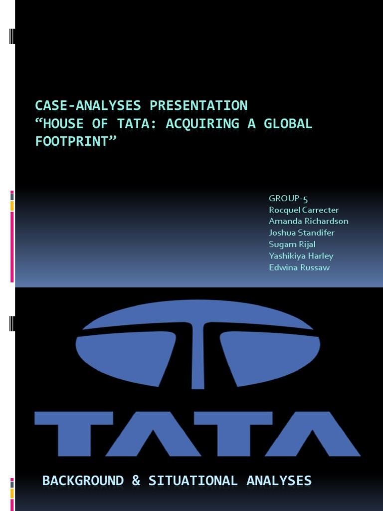 mergers and acquisitions tata group