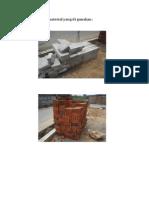 Foto Beberapa Material Yang Di Gunakan