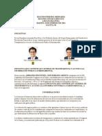 Iniciativa de Ley General de Transparencia y Acceso a la Información Pública Gubernamental