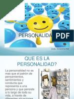 Platica de La Personalidad