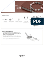 Pandora Bracelet Size Guide A4 UK 2013 Screen