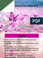 Saidina Uthman Bin Affan R