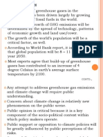 Individuals Insight on Climate Change