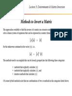 Matrix 101