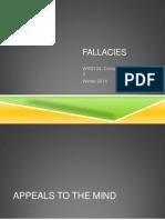 Fallacies WQ
