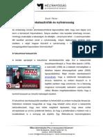 Zsolt Péter - Atomkatasztrófák és nyilvánosság (2011, 12 oldal)