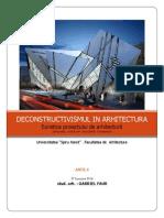 Deconstructivismul in Arhitectura-1