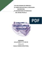 Tareanro2 Catalogo Sismico