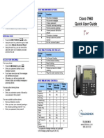 Cisco Quick User Guide_Terix