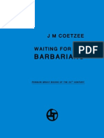 J. M. Coetzee-Waiting for the Barbarians