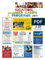 SCT 2014 - Education, Summer Camps & Programs