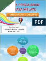 Teknik Pengajaran Bahasa Melayu