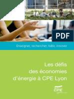 Les défis des économies d'énergie à CPE Lyon