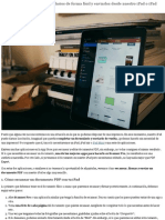 Cómo Escanear, Firmar y Enviar PDF con iPad, iPad Air y iPad Mini