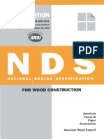 ANSI_AF&PA NDS-2001– National Design Specification for Wood Construction