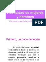 Publicidad de mujeres y hombres - preguntas