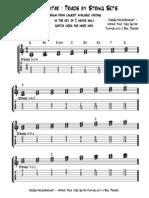 Jazz Guitar Triads by String Sets