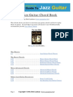 The Jazz Guitar Chords eBook