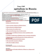 Tony Cliff State Capitalism in Russia (1955-1974)